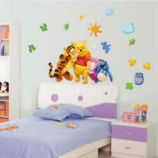 Cartoon Animal Wall Decals Baby Nursery Kids Bedroom Stickers Art Decor Room