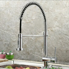 Single Handle Kitchen Faucet Swivel Spout Pull Down Sprayer Bar Sink Mixer Tap
