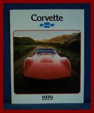1979 Chevrolet CORVETTE Only Color Sales Brochure - Original New Old Stock