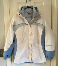 COLUMBIA Core Interchange System Coat Jacket Removable Liner & Hood Size Small
