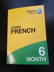 Rosetta Stone Learn French 6 Month Subscription