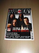 HARD N HEAVY N°91 avril 2003 Sepultura Children Of Bodom Voivod Jason Newsted