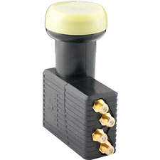 Technomate 4k/3d/hd 0.1db Gold Series QUAD 4 USCITE SATELLITE LNB