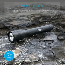 Bolder LC90 2-Cell Rechargeable Flashlight IP65 Water-Resistant, Zoomable, LED👀