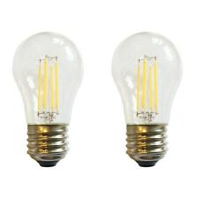 (2)-Bulbs LED A15 40W 120V Refrigerator or Freezer Light Bulb E26