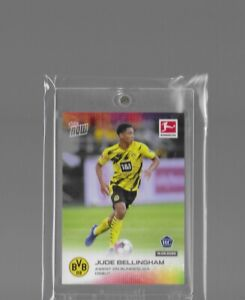 2020 TOPPS NOW BUNDESLIGA JUDE BELLINGHAM Borussia Dortmund ENGLAND ROOKIE RC !
