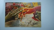 Helloween keeper of the seven keys vintage music postcard POST CARD