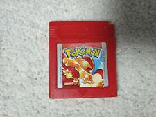 Nintendo Game Boy, Gameboy Color Spiel, Pokemon Rote Edition auf Deutsch