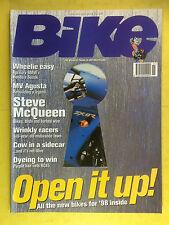 BIKE - November 1997 - Yamaha YZF1000 R1 - Aprilia RSV Mille - Velour 50-eZe