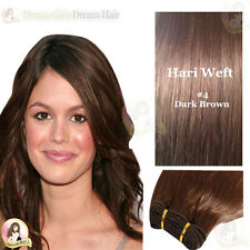 "24"" India Remy AAA 100%Human Hair Extension WEFT#4  Double Drawn*SALON SUPPLIER*"