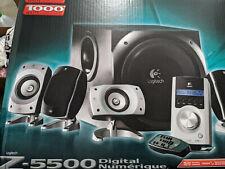 Logitech Z-5500 THX Certified 5.1 Digital Surround Sound Speaker System