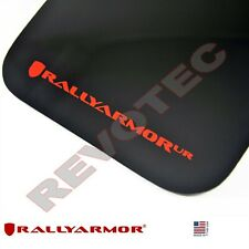 Rally Armor Mud Flaps For 2015-2017 VW Jetta MKVII w Red Logo
