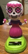 New 2019 Solar Powered Dancing Toy Halloween  DAY OF THE DEAD  - Girl