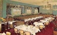 Manhasset L.I. New York dining room Lauraine Murphy Restaurant vintage pc Z18471