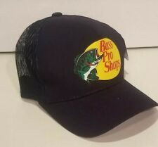 Bass Pro Shops Navy Mesh Fishing Trucker Hat, Cap
