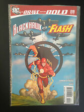 Box 14b, Comic DC, The Brave And The Bold, # 28 Dec 09, Blackhawk & The Flash