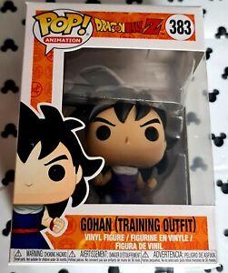 Funko Pop Dragon Ball Z 383 Gohan Training Suit Anime Animation Vinyl Figure