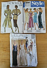Lot of 3 Vintage Sewing Patterns sizes 12 to 18