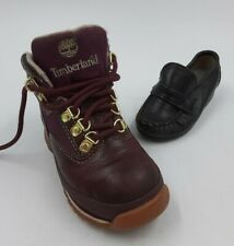 Mix-Matched Single Shoe Lot Un-Matching Pair YOUTH/KIDS Timberland & Baby Loafer
