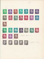 germany 1956 stamps page ref 17558