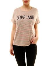 Sundry Women's Loveland Short Sleeve Top Multicolor Size US 1 RRP £81 BCF72