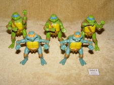 Teenage Mutant Ninja Turtles Tmnt 5x 2005 Mcdonalds figuras de acción 3 Leo 2 Mike