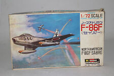 HASEGAWA JAPANESE MILITARY NORTH AMERICAN F-86F SABRE, 1:72 SCALE, BOXED