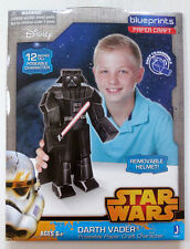 "NEW NIP Star Wars 12"" Poseable Paper Craft Character Darth Vader"