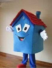 2019 Professional selling blue house adult Mascot Costume fancy dress