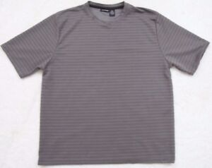 Montage Tee T-Shirt Top XL Crewneck Men's Solid Polyester Man's Short Sleeve