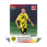 Topps Now Bundesliga 2020-21 - Card 005 - Giovanni Reyna - Borussia Dortmund EN
