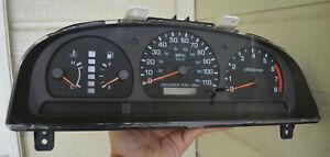 1998 1999 Nissan Frontier AT TACH Speedometer Gauge Cluster OEM high package