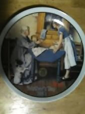 Norman Rockwell Mother's Day 1983 plate Knowles company