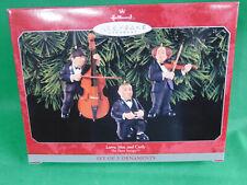 Hallmark Larry Moe and Curly Christmas Ornament Three Stooges 1998 QX6503 MIB