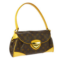 LOUIS VUITTON BEVERLY MM SHOULDER BAG FL0069 PURSE MONOGRAM M40121 AUTH BT17309