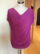 Bianca Top Size 10 BNWT Dusky Pink Draped Neckline RRP £54.95 Now £25