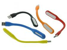 USB Laptop LED Flexlights 1ea Red-Orange-Blue-Yellow & Black