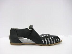 LILIMILL 6651 sandalo ragnetto pelle nera fondo cuoio prodotto italiano