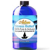 Artizen Stress Relief Essential Oil Blend (100% PURE & NATURAL - UNDILUTED) 4oz