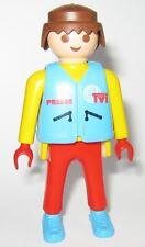 PLAYMOBIL personaggio di Set 3847 TV TEAM MOTO stampa reporter cameraman