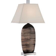 "Quoizel CKTL1733T Tribal Table Lamp 34""H 1-Light. Resin Material"