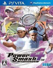 Used PS Vita Power Smash 4 Virtua tennis SONY PLAYSTATION JAPANESE IMPORT