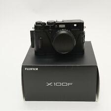 Fujifilm X100F schwarz mit 1.500 Auslösungen, mit Halfcase, OVP Zubehörpaket