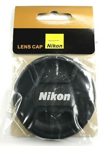 62mm Center-Pinch Snap-On Front Lens Cap for Nikon