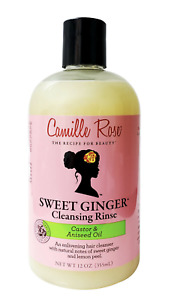 Camille Rose Sweet Ginger Cleansing Rinse - 12 Oz.