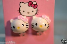 Sanrio Hello Kitty Clip on Earrings