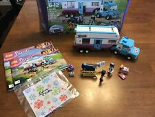 LEGO Friends 41125 Horse Vet Trailer With Box Sorted With Instructions