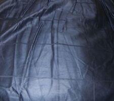 Ralph Lauren King Bedskirt Navy Blue Sateen Carlisle Windowpane Shiney