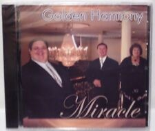 NEW SEALED CD: Golden Harmony MIRACLE Religious Music