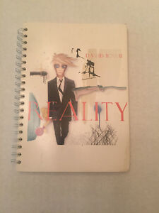 David Bowie Reality Promo Notebook